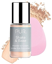 Kup Korektor pod oczy - Pur Shake & Bake Powder-to-Cream Under Eye Concealer