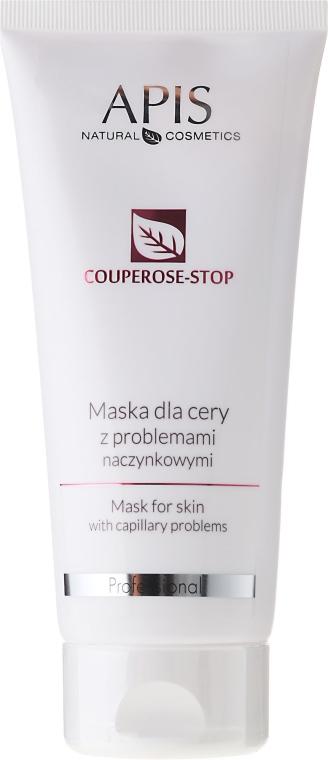 Maska do cery z problemami naczynkowymi - APIS Professional Couperose-Stop