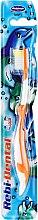 Kup Szczoteczka do zębów dla dzieci, Rebi-Dental M16, miękka, pomarańczowo-biała - Mattes