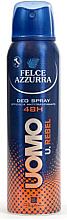 Kup Dezodorant w sprayu dla mężczyzn - Felce Azzurra Deo Rebel