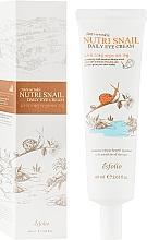 Kup Nawilżający krem pod oczy ze śluzem ślimaka - Esfolio Nutri Snail Daily Eye Cream