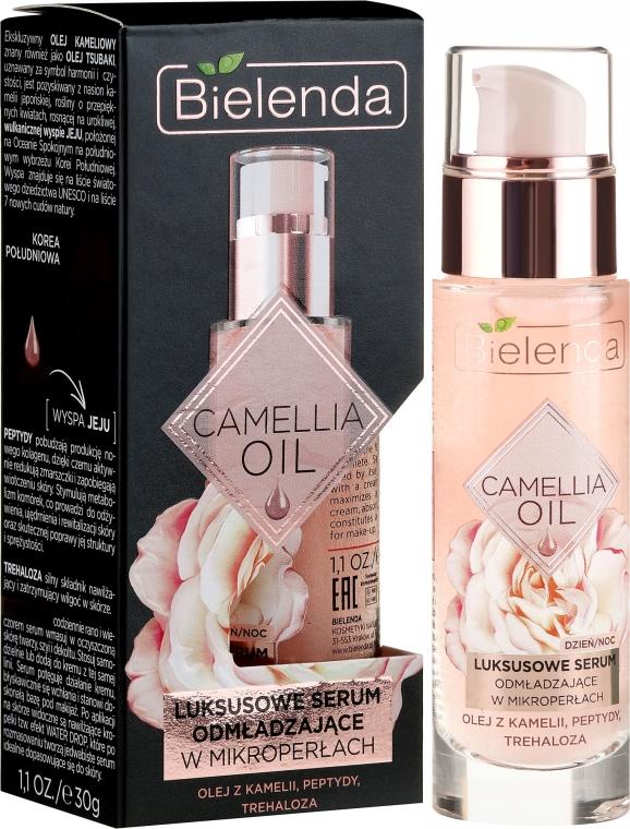 Luksusowe serum odmładzające w mikroperłach - Bielenda Camellia Oil