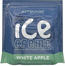 Kup Rozjaśniający puder do włosów - Affinage Salon Professional Ice Creme White Apple Bleach