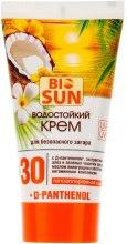 Kup Wodoodporny krem dla bezpiecznego opalania SPF 30 - Bio Panthenol