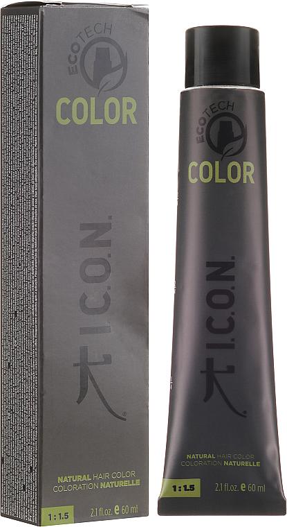 PRZECENA! Nawilżająca farba bez amoniaku do włosów - I.C.O.N. Ecotech Color Natural Hair Color * — фото N1