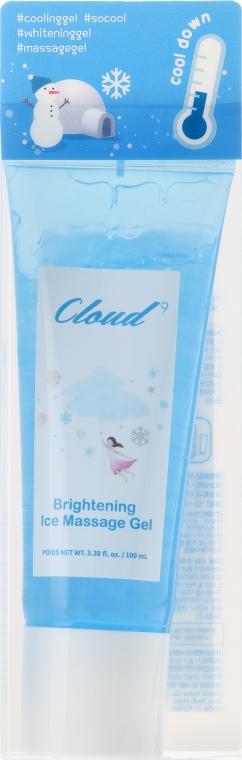 Chłodzący żel do masażu twarzy - Cloud9 Brightening Ice Massage Gel — фото N1