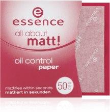 Kup Bibułki matujące - Essence All About Matt Oil Control Paper