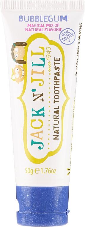 Pasta do zębów dla dzieci o smaku gumy do żucia - Jack N' Jill