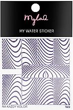 Kup Naklejki na paznokcie Zebra - MylaQ My Water Sticker