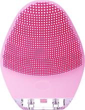 Kup Szczoteczka do mycia twarzy, różowa - Lewer Silicone Facial Cleansing Brush