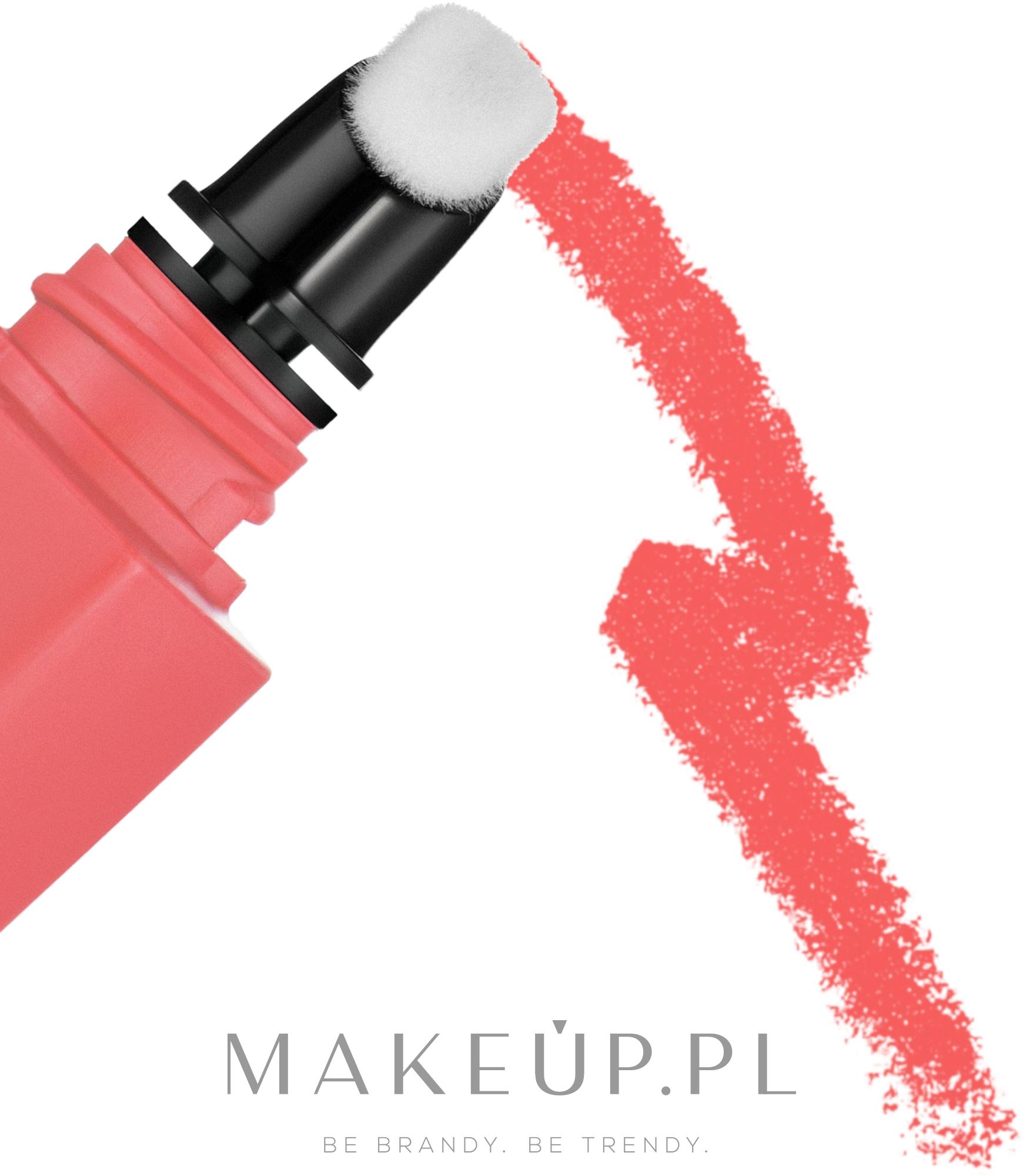 Płynna matowa pomadka do ust z efektem blur - Chanel Rouge Allure Liquid Powder — фото 950 - Plaisir