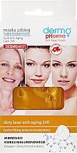 Kup Maska-zabieg hydrokolagenowy Złoty laser anti-aging 24K - Dermo Pharma Gold Anti-Aging