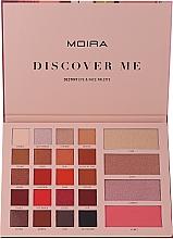 Kup Paleta do makijażu twarzy i oczu - Moira Discover Me Destiny Eye & Face Palette