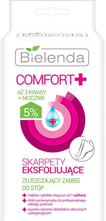 Skarpety eksfoliujące Złuszczający zabieg do stóp - Bielenda Comfort+