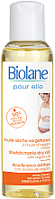 Kup Suchy olejek z olejem arganowym na rozstępy dla kobiet w ciąży - Biolane Mum Stretch Marks Dry Oil