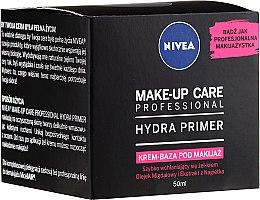 Baza pod makijaż - Nivea Make-Up Care Expert Hydra Primer Make-Up Base — фото N1