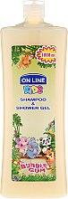 Kup Szampon i żel do mycia dla dzieci Guma balonowa - On Line Kids Shampoo