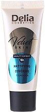 Kup Matujący podkład w kremie - Delia Mineral Velvet Skin