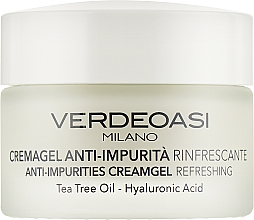 Kup Odświeżający krem-żel chroniący przed zanieczyszczeniami - Verdeoasi Anti-Impurities Creamgel Refreshing