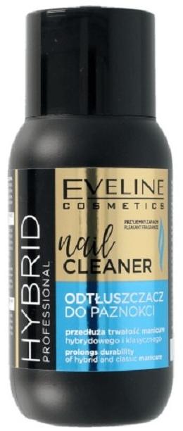Odtłuszczacz do paznokci - Eveline Cosmetics Hybrid Professional Nail Cleaner