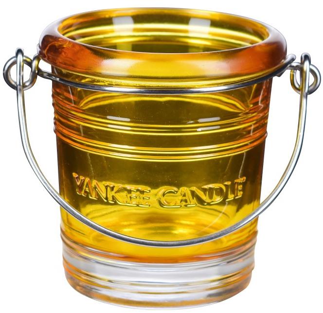Świecznik - Yankee Candle Bucket Holder Yellow — фото N1
