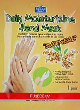 Kup Maska -rękawiczki na dłonie - Purederm Daily Moisturizing Hand Mask Oatmel