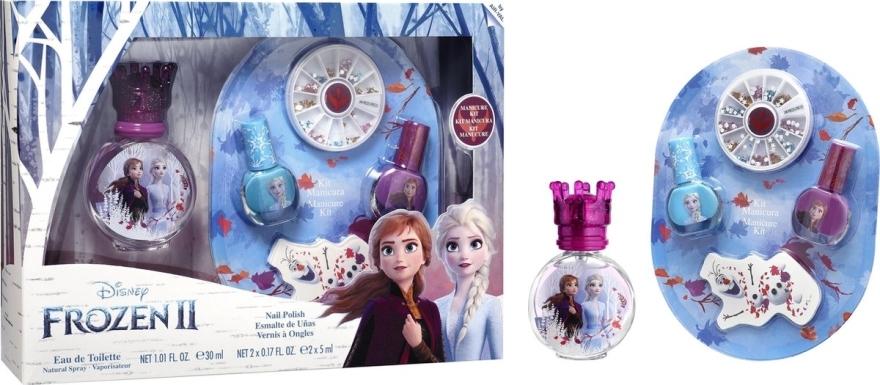 Disney Frozen - Zestaw (edt 30 ml + manicure kit) — фото N1