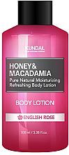 Kup Nawilżająco-odświeżający balsam do ciała Angielska róża - Kundal Honey & Macadamia Body Lotion English Rose