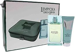 Kup Lolita Lempicka Green Lover - Zestaw (edt 100 ml + afsh/gel 75 ml + pouch)