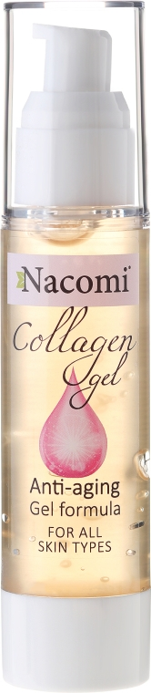 Kolagenowe serum żelowe do twarzy - Nacomi Collagen Gel Anti-Aging
