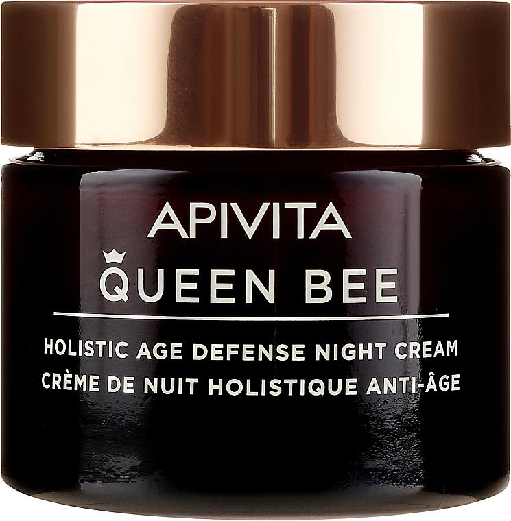 Przeciwstarzeniowy krem do twarzy na noc - Apivita Queen Bee Holistic Age Defense Night Cream — фото N2