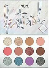 Kup Paleta pigmentów do powiek - Pur Festival 2.0 12-Piece Pressed Pigments Palette