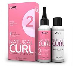 Kup Zestaw - Affinage Salon Professional Natural Curl Perm No.2 + Fix (neitraliser/100ml+hair/lot/100ml)