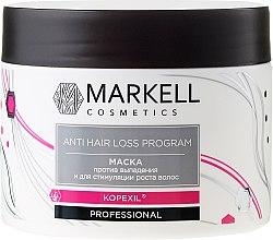 Kup Maska przeciw wypadaniu włosów stymulująca ich wzrost - Markell Cosmetics Anti Hair Loss