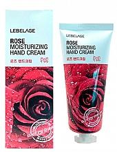 Kup Krem do rąk z ekstraktem z róży - Lebelage Rose Moisturizing Hand Cream