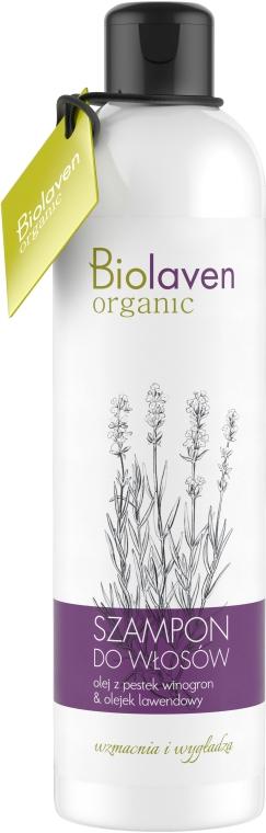 Szampon do włosów Olej z pestek winogron i olejek lawendowy - Biolaven Shampoo