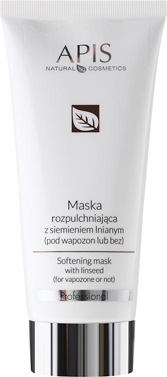 Maska rozpulchniająca z siemieniem lnianym - APIS Professional