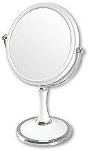 Kup Dwustronne lusterko kosmetyczne, 85642, białe - Top Choice