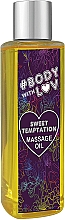 Kup Olejek do masażu Słodka pokusa - New Anna Cosmetics Body With Luv Massage Oil Sweet Temptation