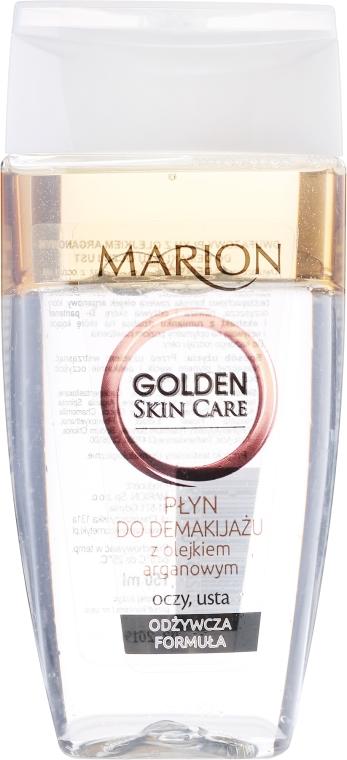 Płyn do demakijażu oczu i ust z olejem arganowym - Marion Golden Skin Care