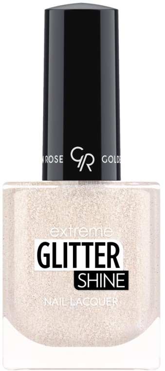 Lakier do paznokci - Golden Rose Extreme Glitter Shine Nail Lacquer