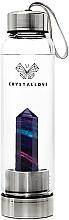 Kup Butelka na wodę z kryształem fluorytem tęczowym - Crystallove