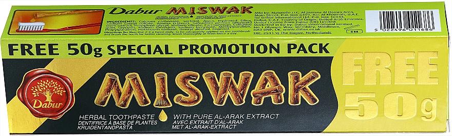 Ziołowa pasta do zębów - Dabur Miswak