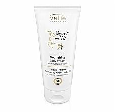 Kup Odżywczy krem do ciała z kwasem hialuronowym Kozie mleko - Vellie Cosmetics Nourishing Body Cream