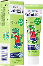 Kup PRZECENA! Jabłkowa pasta do zębów dla dzieci - Vademecum Junior Apple Toothpaste *