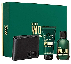 Kup Dsquared2 Green Wood Pour Homme - Zestaw (edt 100 ml + sh/gel 100 ml + wallet)