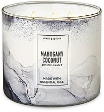 Kup Bath and Body Works Mahogany Coconut 3-Wick Candle - Świeca zapachowa