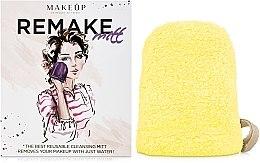 Kup Żółta rękawiczka do demakijażu ReMake (15 x 12 cm) - Makeup