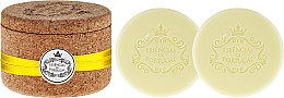 Kup Naturalne mydło w kostce Cytryna - Essências de Portugal Tradition Jewel-Keeper Lemon Soap (w pudełeczku z korka)