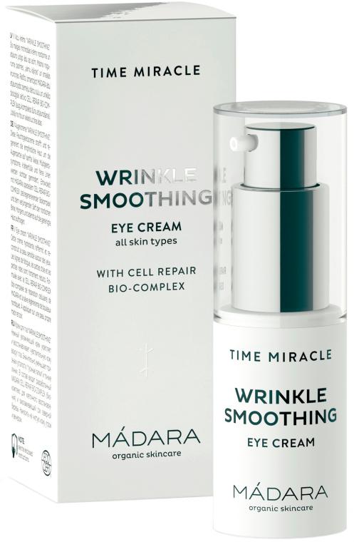 Krem do skóry wokół oczu wygładzający zmarszczki - Madara Cosmetics Time Miracle Wrinkle Smoothing Eye Cream — фото N1